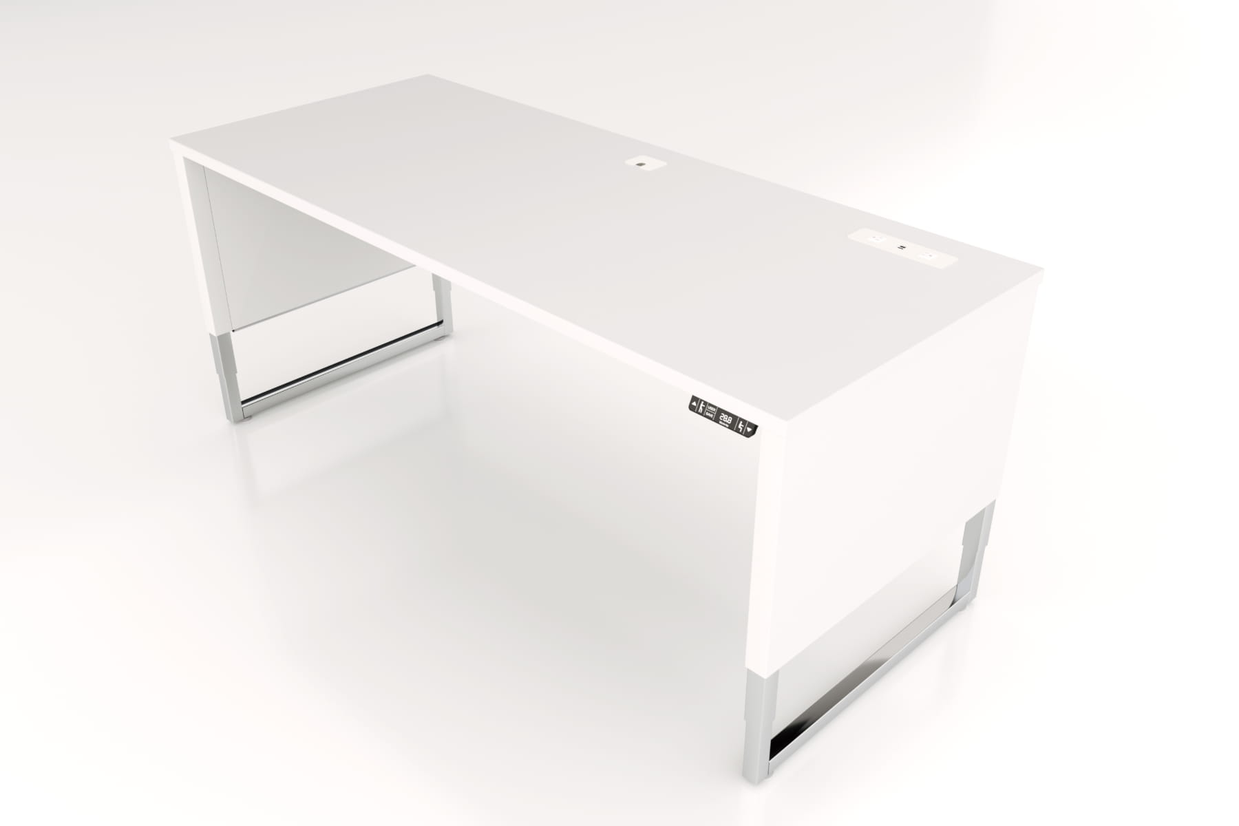 Advent-Desk-ADV-7230-WH-Mid-Front