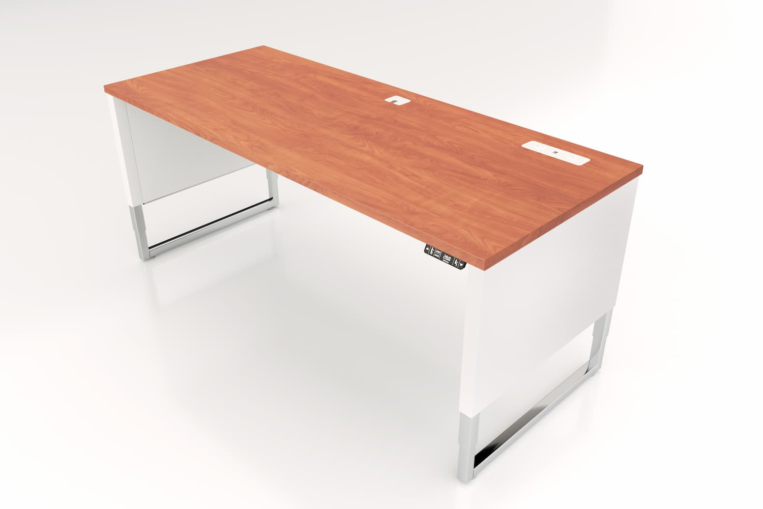 Advent-Desk-ADV-7230-WH-Custom-Top-4