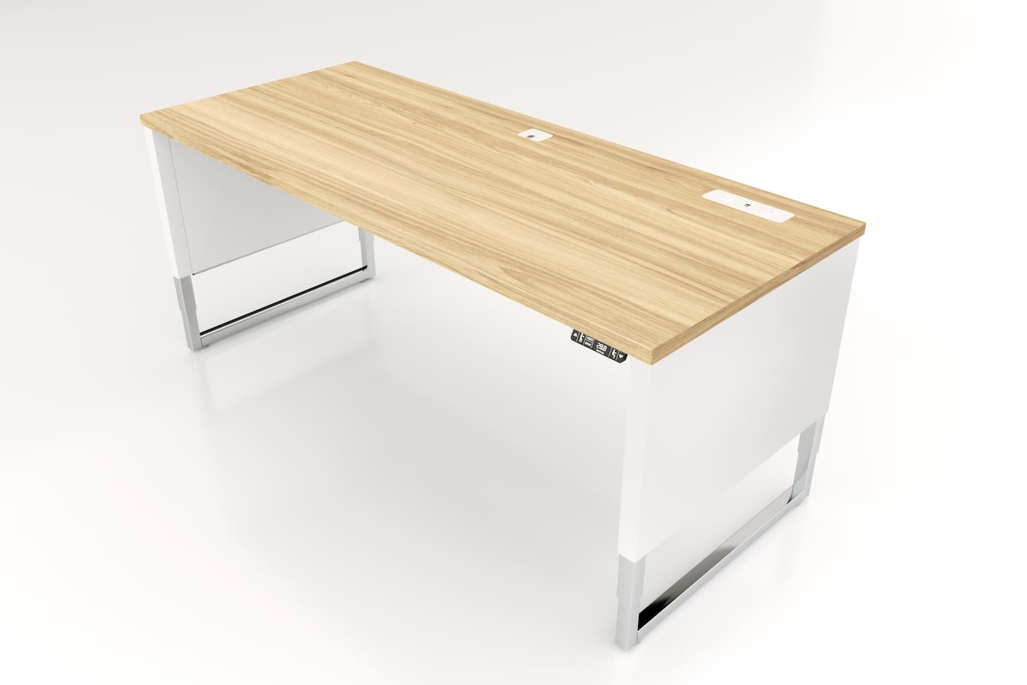 Advent-Desk-ADV-7230-WH-Custom-Top-5