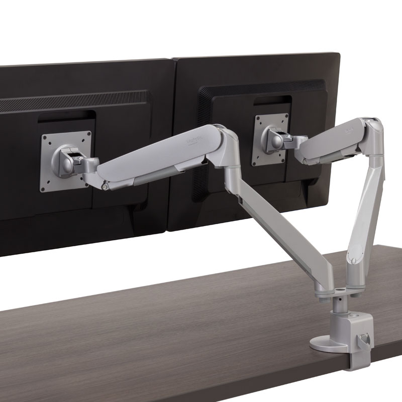 Conform Dual Articulating Monitor Arm Workrite Ergonomics