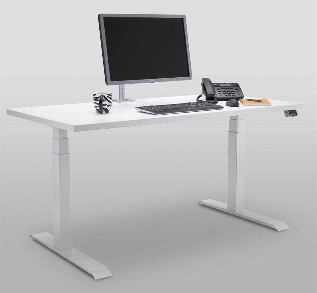 Essentia Workcenter 2-leg White Sitting