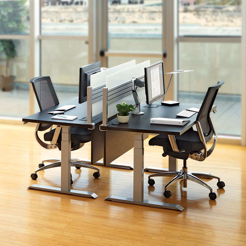 Groovy Essentia Electric Sit Stand Desk Workrite Ergonomics Home Remodeling Inspirations Propsscottssportslandcom