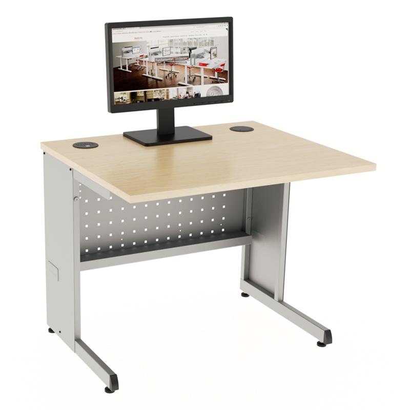 Basic Recessed Computer Desks Workrite Ergonomics