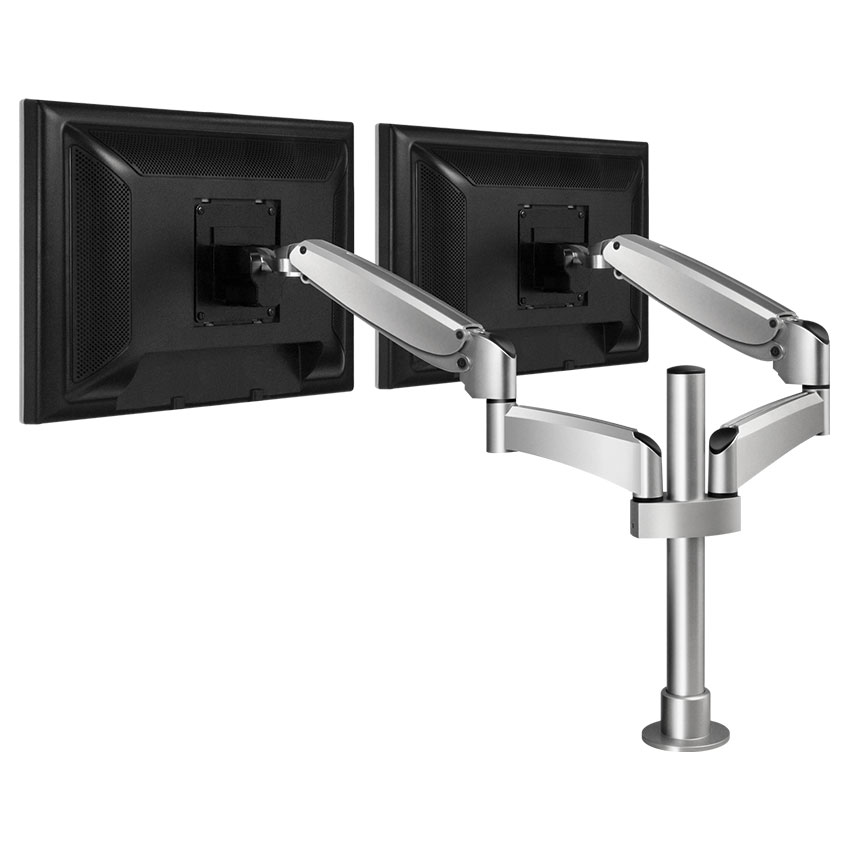 Poise Dual Monitor Mount Workrite Ergonomics Llc