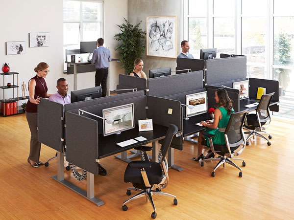 Essentia-benching-sit-stand-desks-height-adjustable