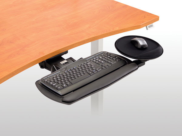 fundamentals, adjustable, keyboard, platform, workcenter, arm, arms, foam, AKP, desk,