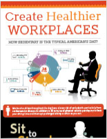 Healthier Workplace Infographic