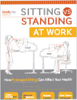 Sitting Vs. Standing Infographic