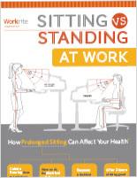 Sitting Vs. Standing Infographic