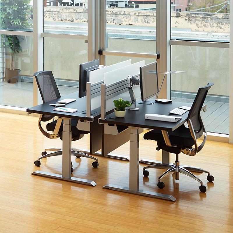 Essentia Electric Sit Stand Desk