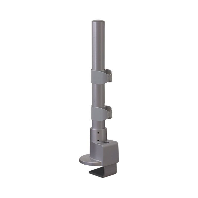 14″ Pole Base with C-Clamp & Grommet