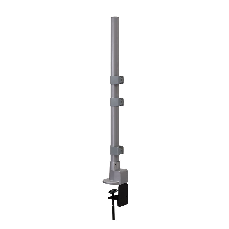 28″ Pole Base with Heavy Duty C-Clamp & Grommet