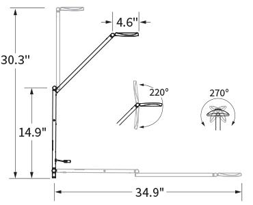 Astra 3 Single Arm Photometrics