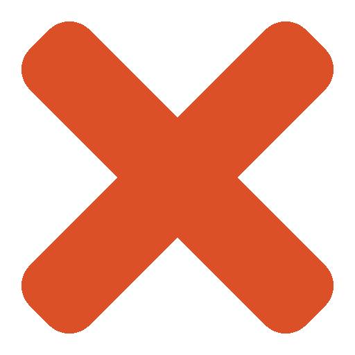 X-symbol-orange