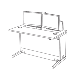 computer-desk-single-user-dual-monitor