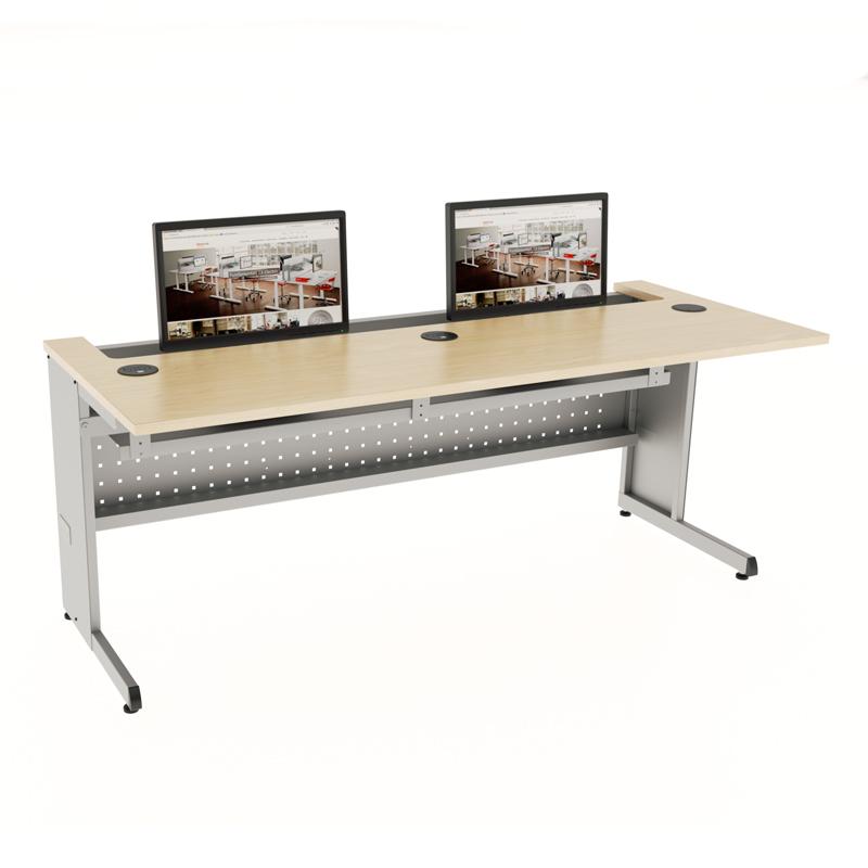 Basic Amp Recessed Computer Desks Workrite Ergonomics