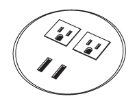 LOS-3-USB-Grommet