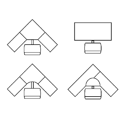 Corner-and-Straightaway-Platform