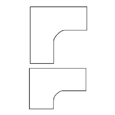 Equal-and-Offset-Corner