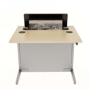 Line Of Sight Computer Desks Workrite Ergonomics