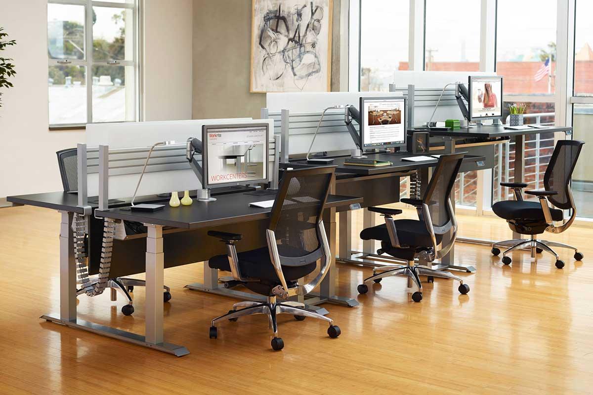 Stand Sit Desks Best Desk Cable Management
