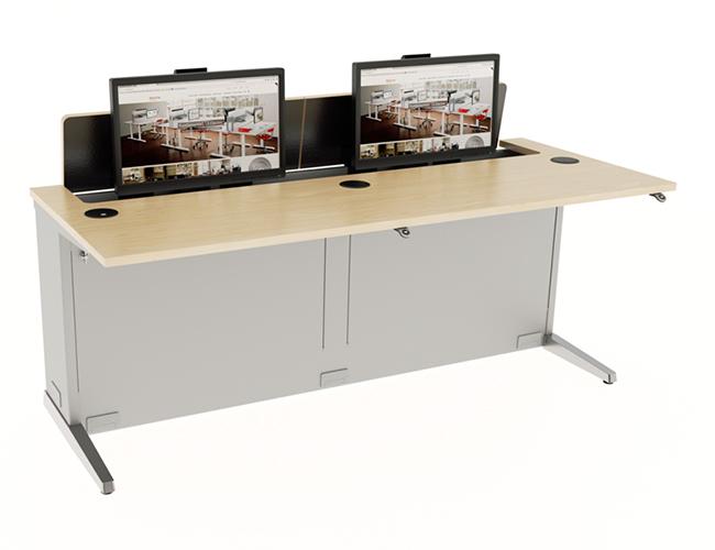 los-computer-desk-dual