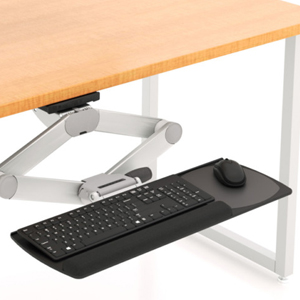 sit-to-stand-compact-keyboard-tray-system