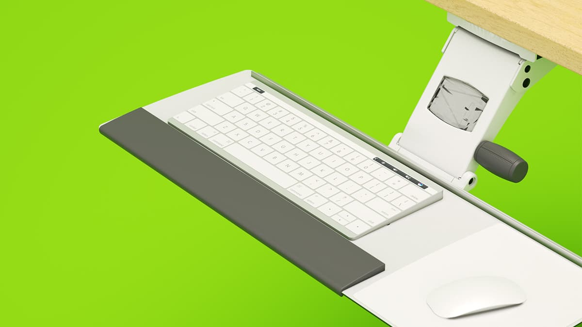 Work Flexible: Why Keyboard Trays Are Still Useful, Even if They're Not Cool