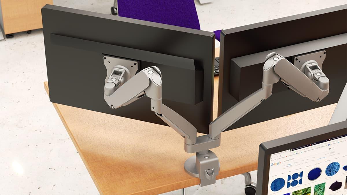 Work Flexible Dual Single Static Articulating