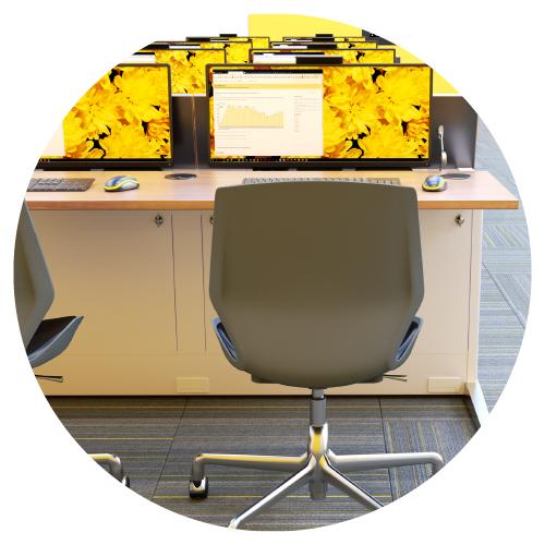 los-computer-training-desk