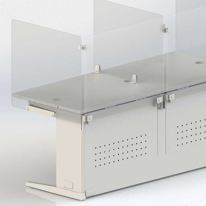 LOS Dual Monitor Bracket - LOS3-DUALMONBRKT-B